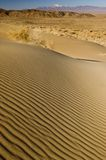 Rimpelingen op de duinen van het woestijnzand Royalty-vrije Stock Fotografie