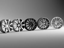 Rims 3d rendering Royalty Free Stock Photography