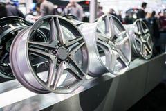 Rims In Toronto Car Show Stock Photography