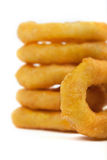 Rims of onion Stock Images