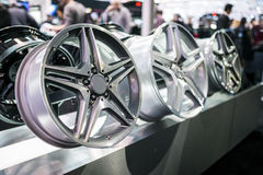 Rims in Toronto Car show Stock Photography