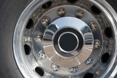 Rims of a truck Stock Photo