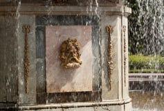 Rimsky springbrunn i parkera Arkivbild