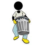 Rimuova i rifiuti illustrazione vettoriale