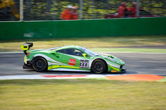 Rinaldi Ściga się Ferrari przy Monza 488 GT3 Obrazy Stock