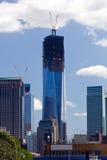 Rinascita del World Trade Center Fotografia Stock