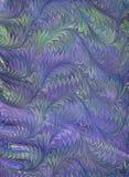 Rinascita/documento marmorizzato 10 del Victorian Immagini Stock