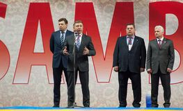 Rinat Layshev, Head director of Sambo-70 Royalty Free Stock Photo