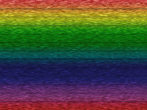 Rinbow wooden wall. Old wooden texture of rainbow colors grunge background Stock Photography
