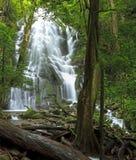 Rincón de la Vieja Seasonal Waterfall Royalty Free Stock Photo