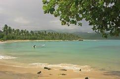 Rincon beach, Samana peninsula Stock Photos
