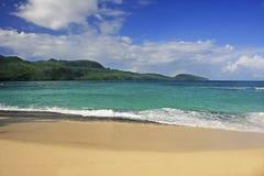 Rincon beach, Samana peninsula Royalty Free Stock Images