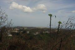 Rincon en Puerto Rico después del huracán Maria Imagenes de archivo