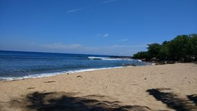 Rincon, plage de Corcega, Stella, Porto Rico photos stock