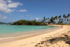Rincon: Uma das dez praias superiores no mundo Fotografia de Stock Royalty Free
