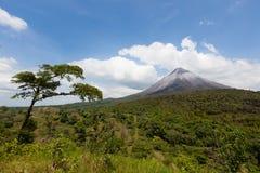 Rincon Vulcano in Costa Rica, America media immagini stock