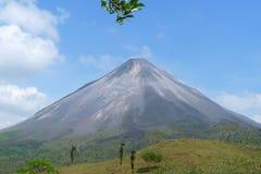 Rincon Vulcano in Costa Rica, America media fotografia stock libera da diritti