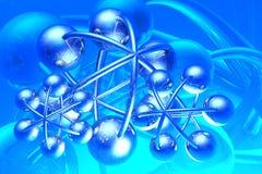 Rinda de la molécula Fotografía de archivo