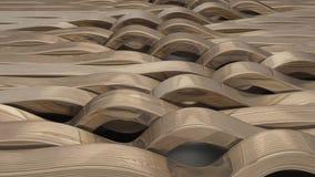 Rinda del fondo abstracto geométrico 3D stock de ilustración