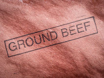 Rinderhackfleisch Lizenzfreies Stockfoto