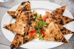 Rindfleisch arais am Restaurant Stockfotografie
