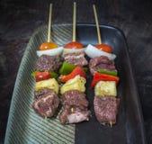 Rindfleisch BBQ Stockbilder