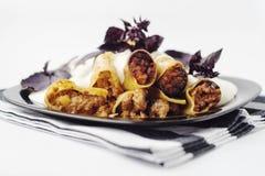 Rindfleisch-Cannelloni Lizenzfreies Stockfoto