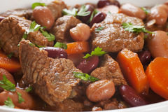 Rindfleisch-Eintopfgericht Lizenzfreies Stockbild