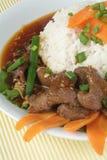 Rindfleisch-Eintopfgericht-Bruststück Lizenzfreies Stockfoto