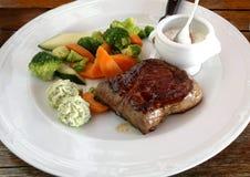Rindfleisch gebratenes Stück Lizenzfreies Stockfoto