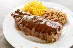 Rindfleisch-New- Yorksteak lizenzfreie stockfotos