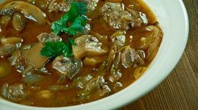 Rindfleisch oder Kalbfleisch Piccata Lizenzfreie Stockfotos