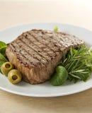 Rindfleisch-Steak Stockfoto
