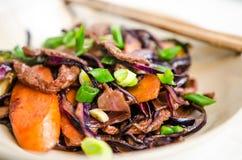 Rindfleisch und Gemüse Lizenzfreie Stockfotos