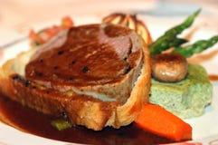 Rindfleisch Wellington Stockfotos