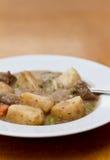 Rindfleischeintopfgericht Stockbild