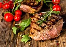 Rindfleischsteak lizenzfreies stockfoto