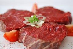 Rindfleischsteak lizenzfreie stockbilder