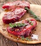 Rindfleischsteak. stockfotografie