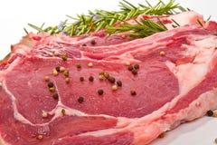 Rindfleischsteak Lizenzfreie Stockfotos