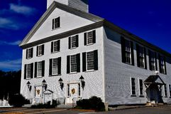 Rindge, NH: 1796 Meeting House Stock Images