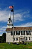 Rindge, NH: 1796 Second Rindge Meeting House Royalty Free Stock Photos