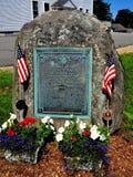 Rindge, NH: World War I Memorial Royalty Free Stock Photography