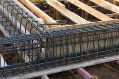 Rinforzo della barra d'acciaio Immagine Stock Libera da Diritti