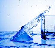 Rinfresco dell'acqua Immagine Stock