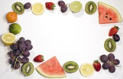 Rinfresco della frutta fotografia stock