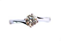 Ring 01 van de diamant Stock Foto's