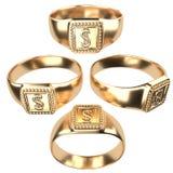 ring Royalty-vrije Stock Afbeeldingen