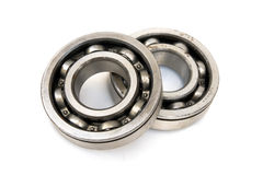 Ring. Ball bearings - a detail from a car gearbox Stock Images