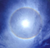 Ring around the sun Stock Photos